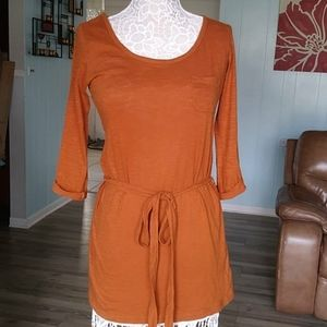 🎈3/$20🎈forever 21 tan tunic belted top